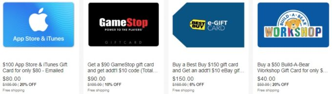 25+ Ways To Save Money On Gift Cards - GC Galore