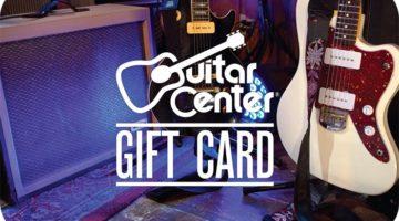 Guitar Center Gift Card