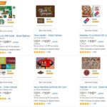 Amazon Discover Third Party Gift Cards