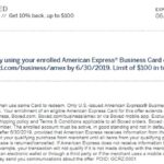Boxed Amex Offer 10% Back $100