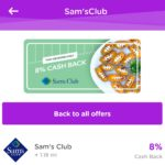 Sam's Club 8% Dosh