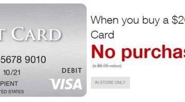 Staples Fee-Free Visa Gift Cards 01.13.19-01.19.19