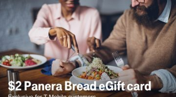 T-Mobile Tuesdays Panera eGift Card 01.29.19