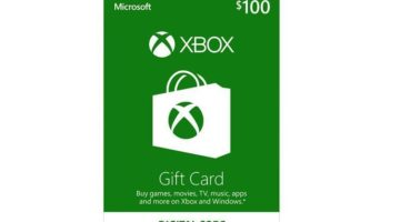 Xbox $100 Gift Card