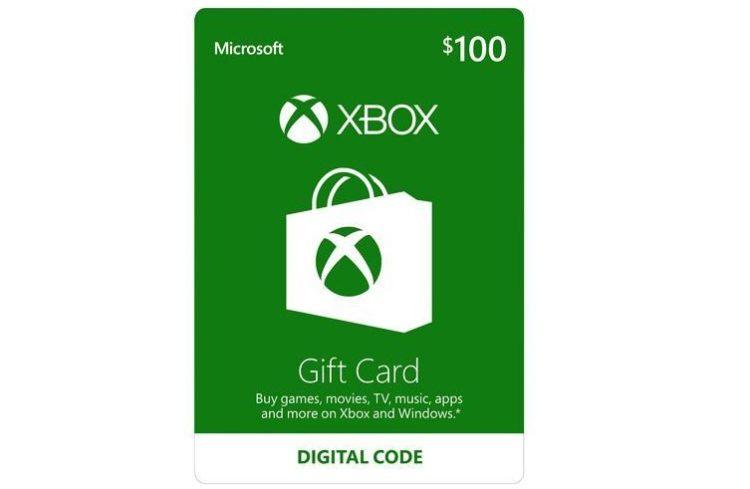Xbox $100 Gift Card