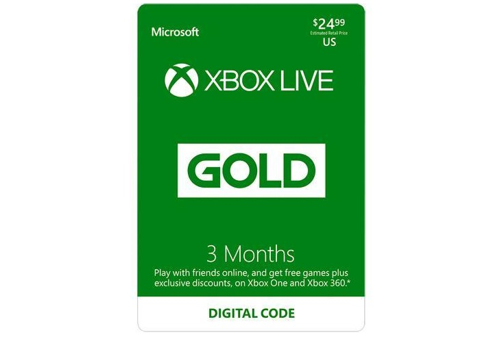 EXPIRED) Newegg: Buy $24 99 3 Month Xbox Live Gift Card For $20 99