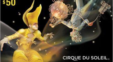 Cirque du Soleil Gift Cards