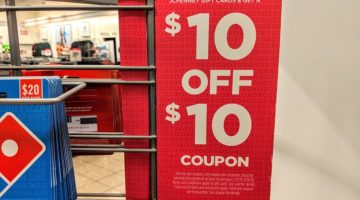 JCPenney gift card deal $10 off $10