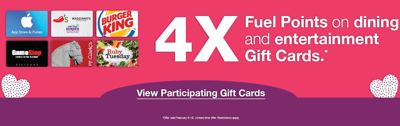 EXPIRED) Kroger: Earn 4x Fuel Points On Dining