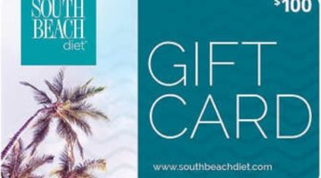 South Beach Diet Gift Cards