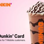 T-Mobile Tuesdays $2 Dunkin' Donuts Gift Card 02.19.19