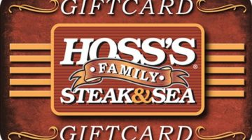 Hoss's Steak & Sea House Gift Card
