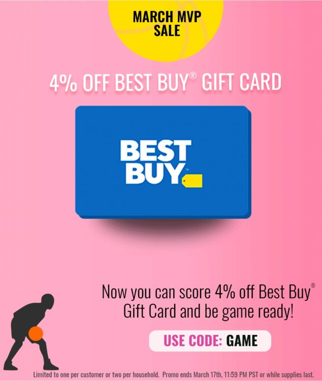 EXPIRED) Swych: Save 4% On Best Buy Gift Card When Using