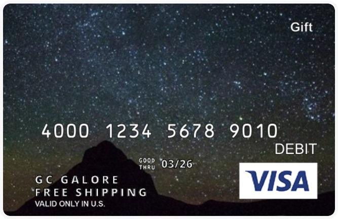Visa Gift Card Giftcardsdotcom Free Shipping Promo Code LUCKYYOU