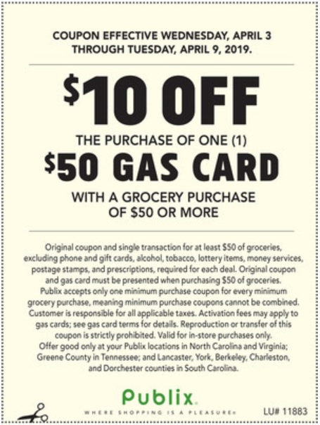 photograph relating to Petco Printable Coupon $10 Off $50 identify EXPIRED) Publix: Receive $10 Off $50 Gasoline Reward Card Each time Investing