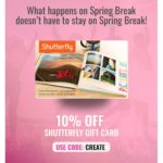 Swych 10% Off Shutterfly Gift Card 10% Create