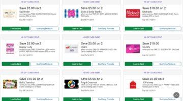 Kroger Gift Card Discounts