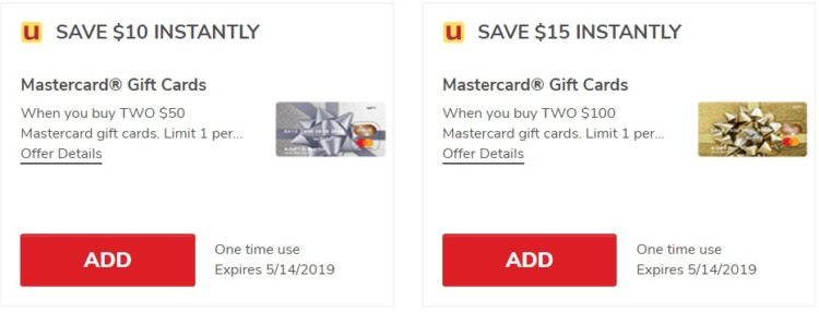 Safeway Albertsons $25 Off Mastercard Gift Cards 05.14.19