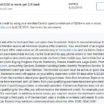 Sam's Club Amex Offer Spend $200 Get $25