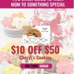 Swych Cheryl's Cookies 20% Off Promo Code SUGAR