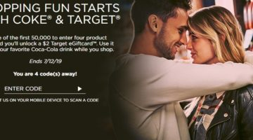 Coke Rewards $2 Target Gift Card 4 Promo Codes