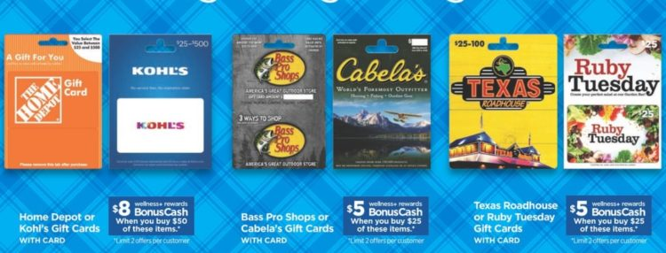 EXPIRED) Rite Aid: Earn 16-20% BonusCash On Select Gift Cards (Home