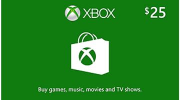 $25 Xbox Gift Card