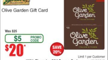 Fry's Olive Garden