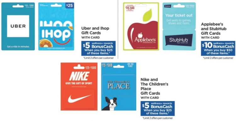 EXPIRED) Rite Aid: Earn 20% BonusCash On Select Gift Cards