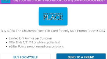 The Children's Place Gift Cards Archives - GC Galore