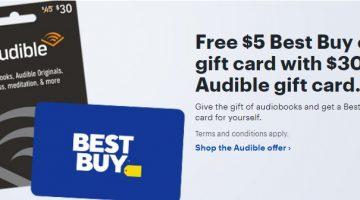 Audible Best Buy