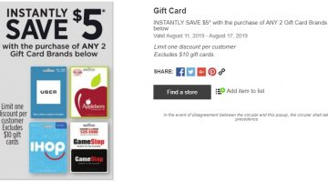 PayPal Digital Gifts: Buy $110 Southwest Gift Card For $100 - GC Galore