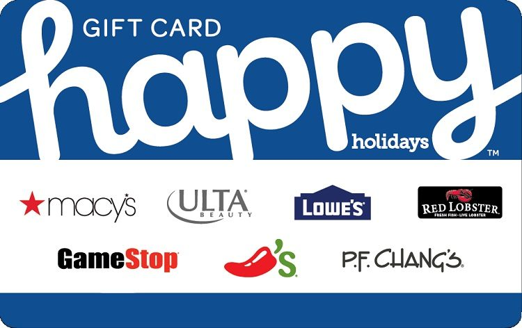 Happy Holidays Gift Card