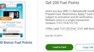 EXPIRED) Kroger: Buy Netspend Visa Prepaid Card & Get 200