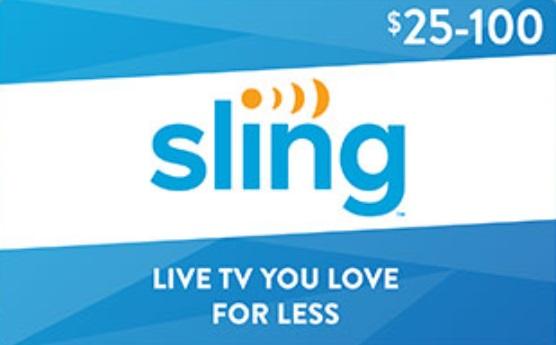 EXPIRED) Best Buy: Buy $50 Sling TV Gift Cards & Get $5 Best