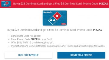 GC Galore - Gift card discounts, promotions, bonuses and more