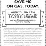 Publix $50 Gas Gift Card 10.22.19