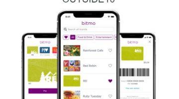 Bitmo promo code OUTSIDE10