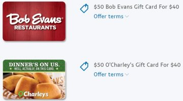 PPDG Bob Evans O'Charley's