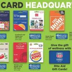 Rite Aid Black Friday 2019 Gift Card Deals