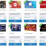 Giant Eagle 3x Movie Gift Cards