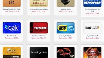 Gift Card Spread Promo Code XMAS20