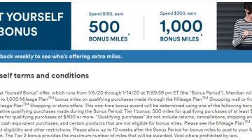 Alaska Airlines shopping portal bonus 01.06.20