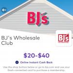 BJ's Membership Dosh
