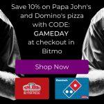 Bitmo Promo Code GAMEDAY