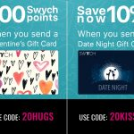 Swych Promo Code 20HUGS 20KISSES.