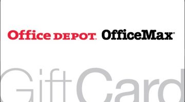 Office Depot OfficeMax Gift Card