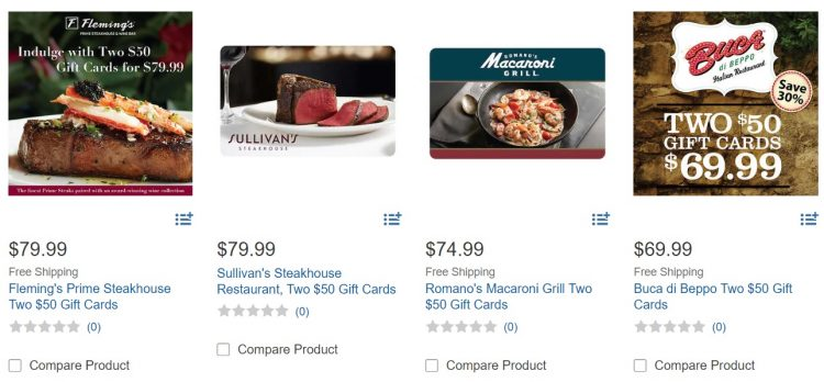 Costco Now Selling Some Third Party Gift Cards Again Gc Galore