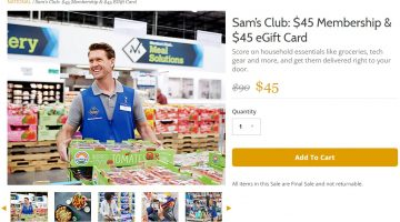 Gilt Sam's Club