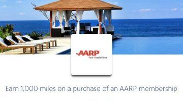 AA SimplyMiles AARP Membership